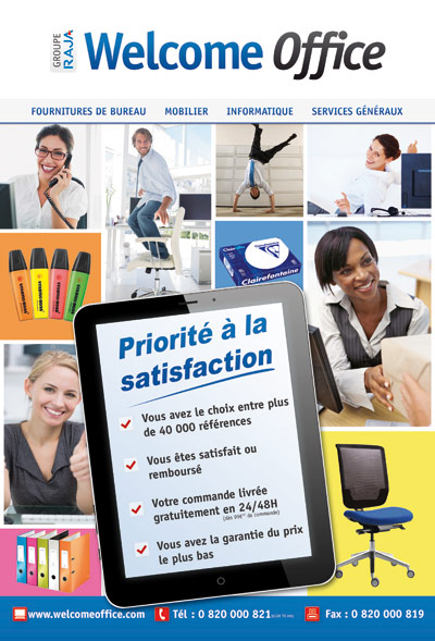 Le mag de la fourniture de bureau par welcome officele for Fourniture bureau catalogue