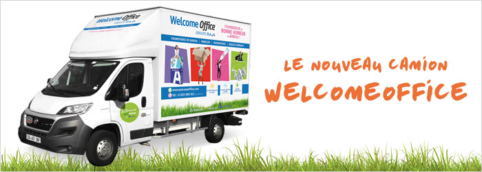 Les camions Welcome Office